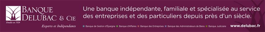Bannière Banque Delubac